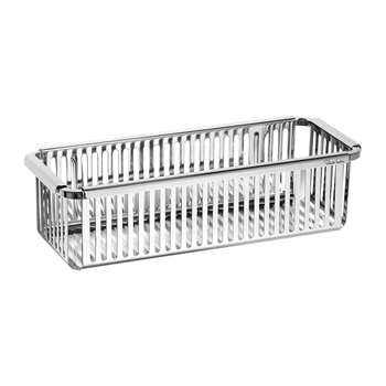 Robert Welch - Burford Shower Basket - Single (H8 x W29 x D12cm)