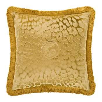Roberto Cavalli - Sigillo Reversible Cushion - Gold (H60 x W60cm)