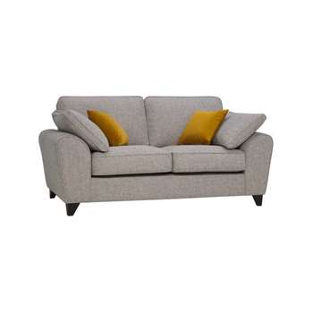 Robyn Spa with Mustard Fabric 2 Seater Sofa (H88 x W191 x D98cm)