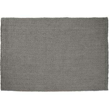 Rohan Woven Jute Rug, Large, Grey (H160 x W230cm)