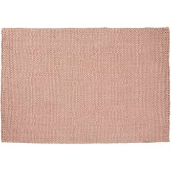 Rohan Woven Jute Rug, Large, Soft Pink (H160 x W230cm)