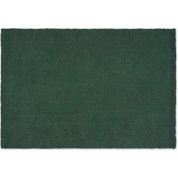 Rohan Woven Jute Rug, Moss Green (H160 x W230cm)