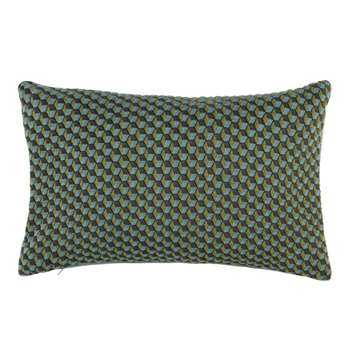 ROMBOIDAL Cushion Cover with Multicoloured Graphic Print (H30 x W50cm)