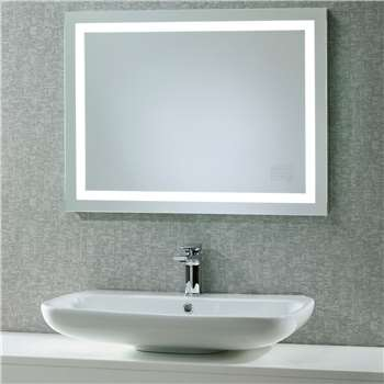 Roper Rhodes Beat Illuminated Led Bathroom Mirror with Integrated Stereo (60 x 80cm)