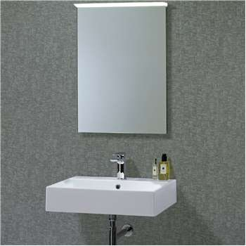 Roper Rhodes Induct Illuminated LED Bathroom Mirror (H73 x W52cm)