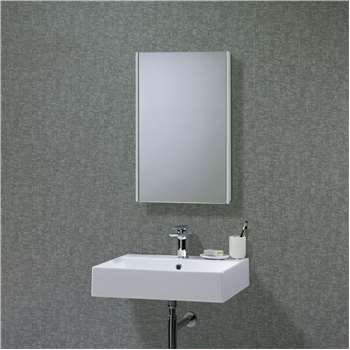 Roper Rhodes Limit Slimline Single Bathroom Cabinet with Double-Sided Mirror (70 x 45cm)