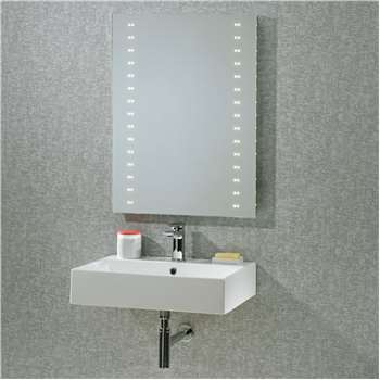 Roper Rhodes Pulse LED Bathroom Mirror (H80 x W60 x D5cm)