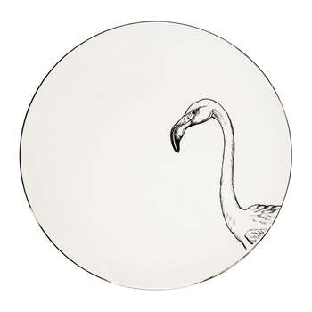 Rory Dobner - Perfect Plates - Francis Flamingo - Small (16 x 16cm)