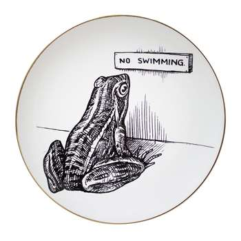 Rory Dobner - Perfect Plates - Frog - Medium (21 x 21cm)