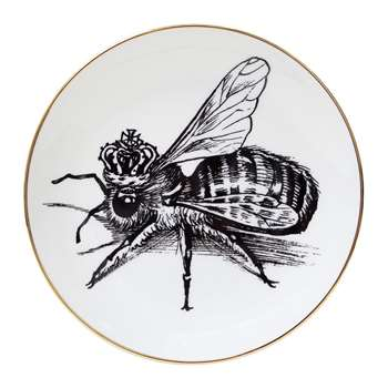 Rory Dobner - Perfect Plates - Queen Bee - Medium (21 x 21cm)