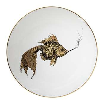 Rory Dobner - Perfect Plates - Smoky Fish Gold - Medium (21 x 21cm)