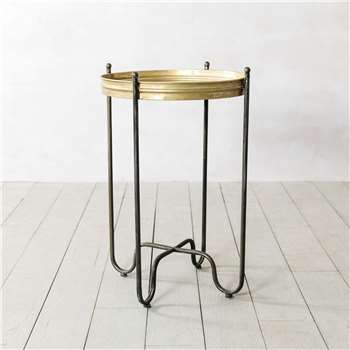 Rosace Round Side Table (H69 x W48 x D48cm)