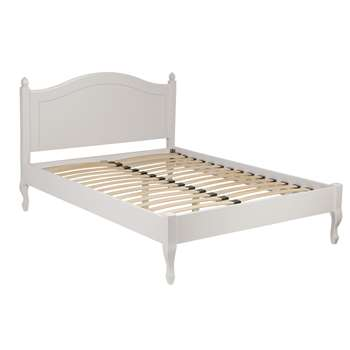 Rosalind Dove Grey Bed Frame King (109 x 158 x 211cm)