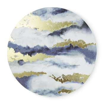 Round Abstract Canvas