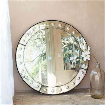 Round Bubble Mirror (H100 x W100 x D3cm)