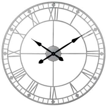 Round Metal Wall Clock (Diameter 80cm)