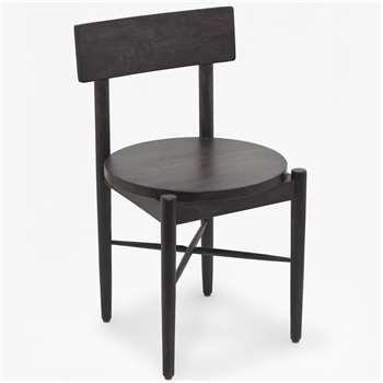 Round Seat Chair (H77 x W45 x D45cm)