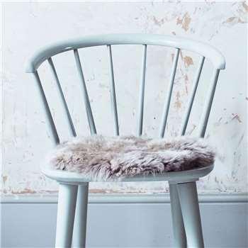 Round Vole Sheepskin Seat Pad (H37 x W37cm)