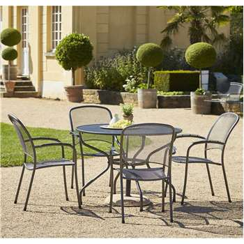 Royal Garden Carlo 4 Seat Table and Chair Set - 105cm at Argos