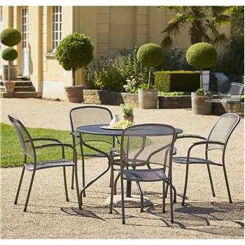 Royal Garden Carlo 4 Seat Table and Chair Set - 105cm at Argos