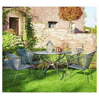 Royal Garden Elegance 4 Seater Metal Patio Set at Argos