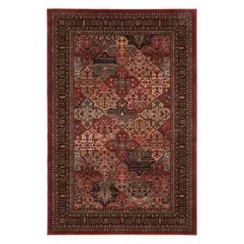Royal Heritage Imperial Baktian Rug, Red (H160 x W240cm)