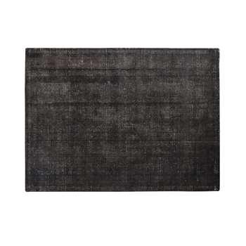 RUNWAY - Anthracite Grey Rug (H160 x W230 x D2cm)