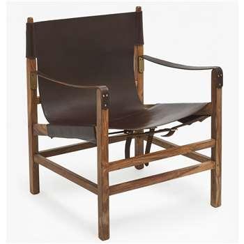 Safari Lounge Chair - Brown (82 x 69cm)