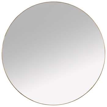 SAFARI PARTY - Golden Metal Mirror (H70 x W70 x D0.2cm)