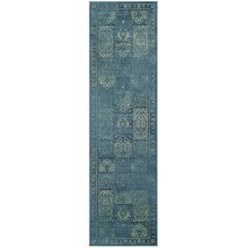 Safavieh Suri Vintage Inspired Rug, Turquoise/Multi-Colour (243 x 66cm)