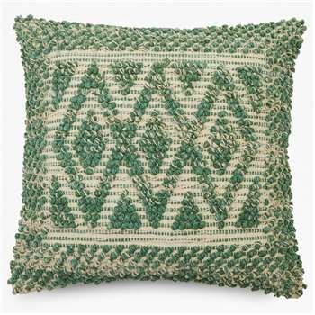 Sage Aztec Cushion (H50 x W50cm)