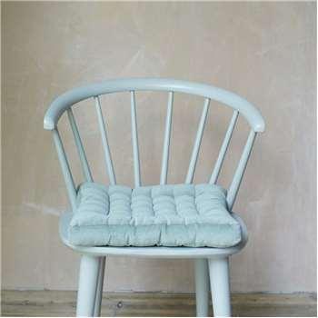 Sage Green Velvet Seat Pad (H40 x W40cm)