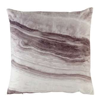 Sainsbury's Home Marble Print Cushion (H43 x W43cm)