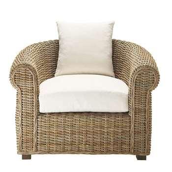 SAINTE-MAXIME Kubu rattan armchair