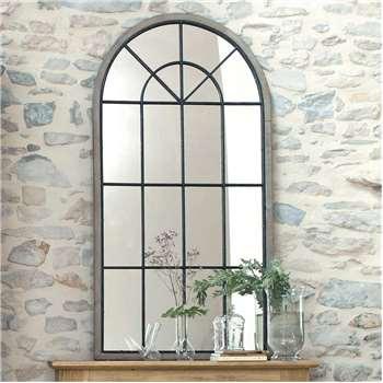 SAINTE-MAXIME wooden mirror H 146cm