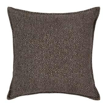 SAITAMA - Grey Cotton Cushion Cover (H40 x W40cm)