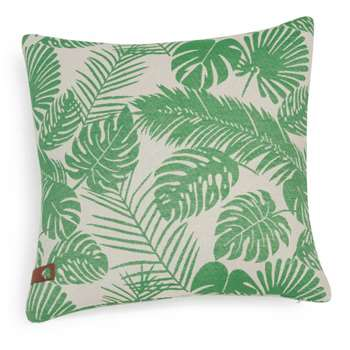 SAMUI green foliage print cushion cover (40 x 40cm)