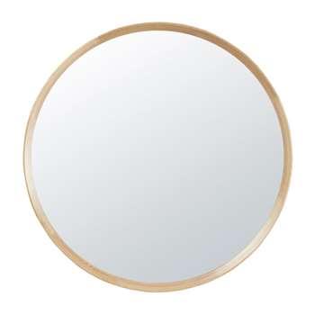 SANDA Round Paulownia Mirror (Diameter 100cm)