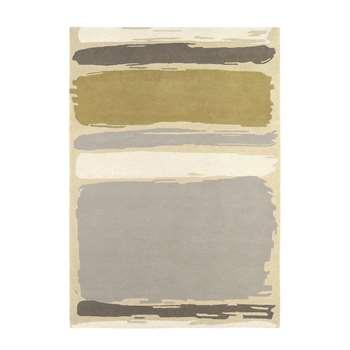 Sanderson - Abstract Linden/Silver Rug - 170x240cm
