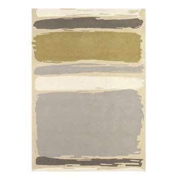 Sanderson - Abstract Linden/Silver Rug - 200x280cm