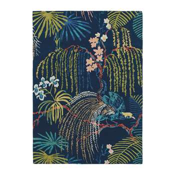 Sanderson - Rain Forest Rug - Tropical Night (H140 x W200cm)