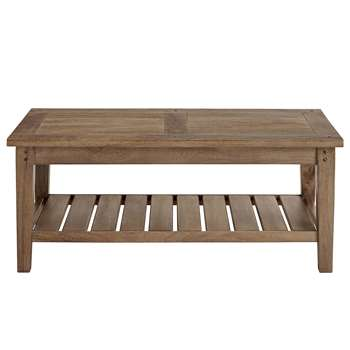 Sanford Coffee Table, Dark (45 x 110cm)