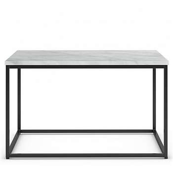 Sanford Marble Square Coffee Table, Marble (H42 x W71 x D71cm)