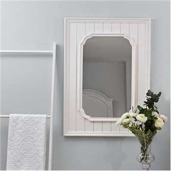 Savannah Mirror White Large (H110 x W80cm)