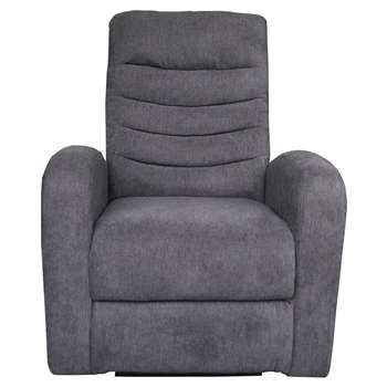 Savas Power Charcoal Recliner Chair (104 x 79cm)
