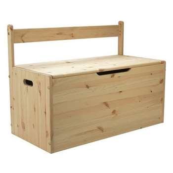 Argos Home Scandinavia Pine Extra Large Toybox (H63.5 x W87 x D42cm)