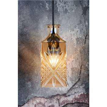 Scarpa Decanter Pendant Light (H25 x W10 x D10cm)