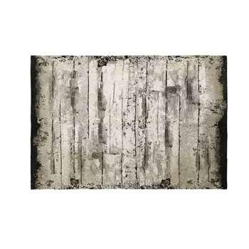 SCHOTEN - Faux Wood Cotton Rug (H140 x W200 x D2cm)
