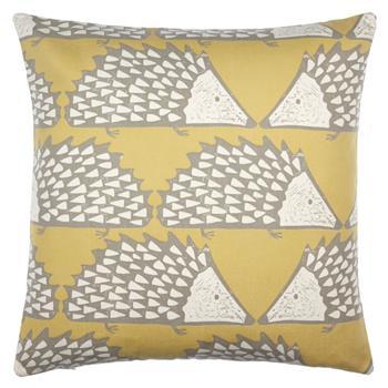 Scion Spike Cushion, Honey (45 x 45cm)