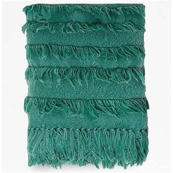 Sea Turquoise Throw - blue (H130 x W170cm)